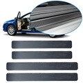 Универсальный автомобильный стикер на порог  4 шт.  защита от царапин  Углеволокно  автомобильные аксессуары