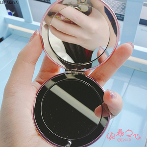 Image 4 - Anime Sailor Moon Moonlight Action Figure Folded Mirror Pink Metal Crystal Star Cosmetic Makeup Mirrors Cosplay Gifts toy New