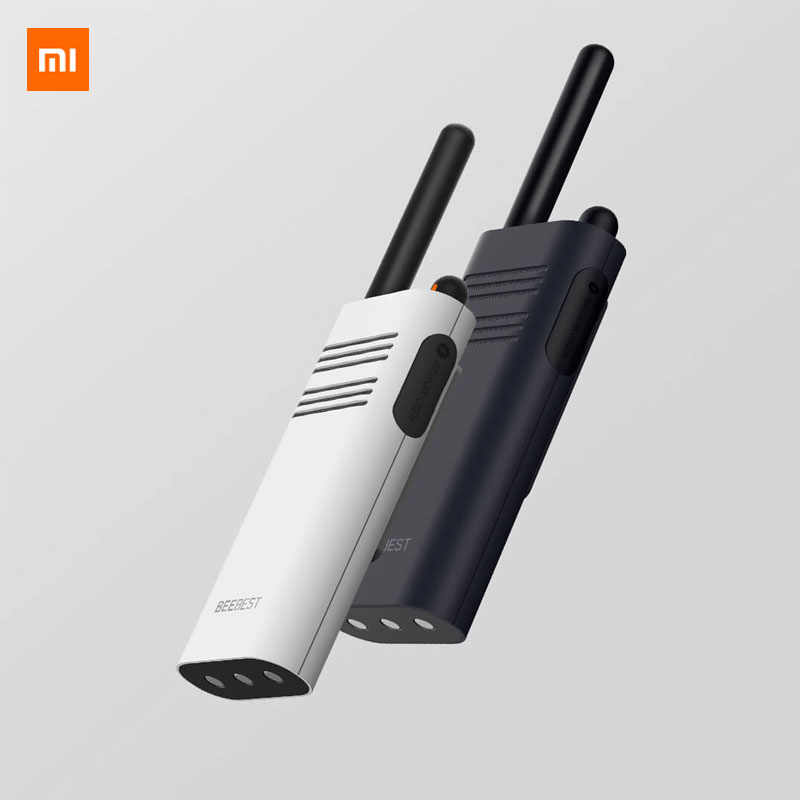 Original Neue Xiaomi Beebest Smart Walkie talkie 1-5 km call 16 kanal anti-jamming Lange standby handheld smart sprech