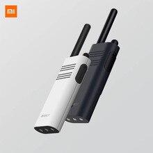 원래 새로운 Xiaomi Beebest 스마트 워키 토키 1 5 km 전화 16 채널 안티 방해 전파 대기 핸드 헬드 스마트 인터폰