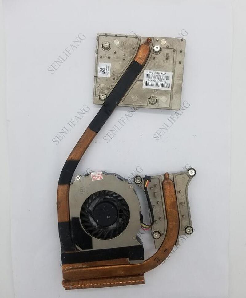 For HP ZBOOK 15 G1 G2 Original Laptop CPU Cooling Fan Heatsink & Fan Radiator & Fan 734289-001