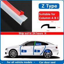 Uszczelka do drzwi samochodowych przezroczysta uszczelka typu Z uszczelka drzwi samochodowych uszczelka krawędziowa maska samochodu uszczelka uszczelka gumowa uszczelka tanie tanio IIOHOII CN (pochodzenie) 1inch rubber seal strip Wypełniacze Kleje i uszczelniacze 0 24kg Car Door Seal FD-Z-2 car door rubber seal