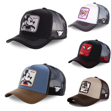 Mesh Hat Baseball-Cap Trucker-Hat Snapback Mickey Cotton Men Women Cartoon DONALD New-Brand