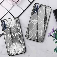 Funda de teléfono de marca de lujo, cristal para Huawei P30 Lite 20 Por P9 10 Honor 8X9 10 NOVA 5