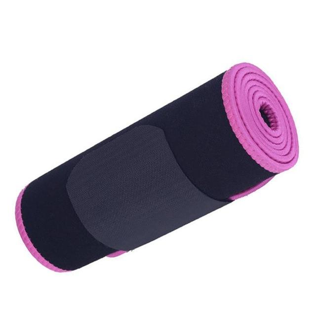 1PC Neoprene Waist Trimmer Belt Weight Loss Sweat Band Wrap Fat Tummy Stomach Sauna Sweat Belt Jogging Losing Weight Wrap 3