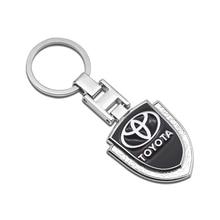 Car Keychain Key-Ring Car-Logo Auris Prius Verso Avensis Toyota Auto-Pendant Metal Camry