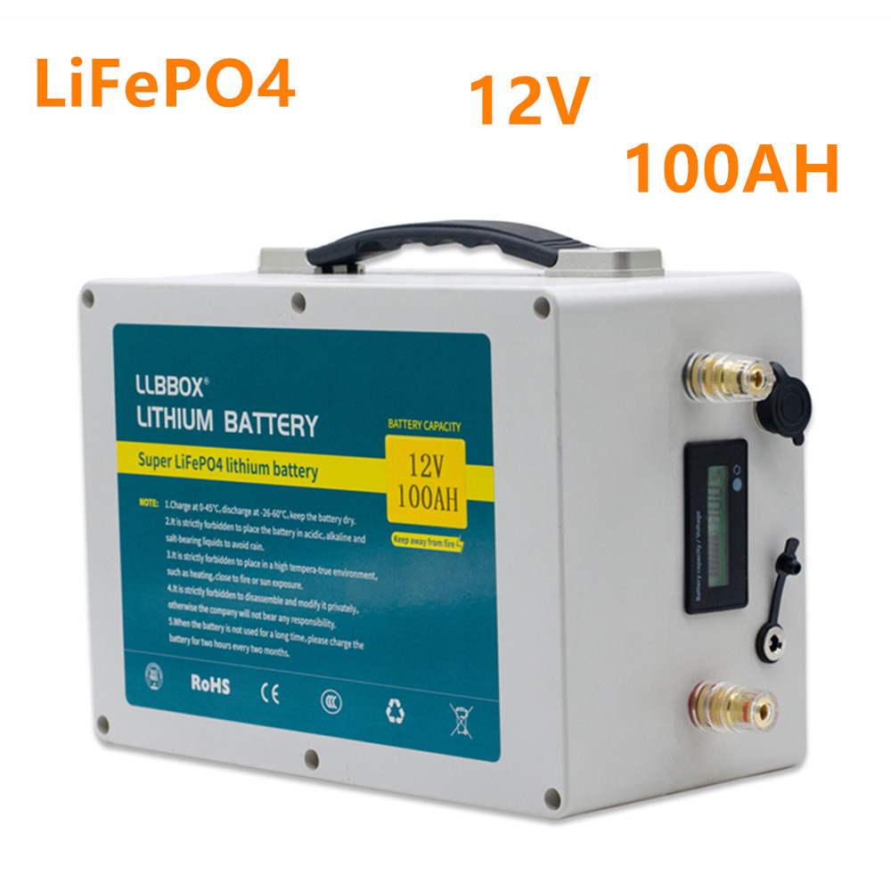<font><b>Lifepo4</b></font> 12V100ah lithium <font><b>battery</b></font> pack <font><b>12V</b></font> <font><b>lifepo4</b></font> <font><b>100AH</b></font> <font><b>battery</b></font> pack <font><b>LiFePO4</b></font> lithium <font><b>battery</b></font> pack for inverter ,ship motor,rv image