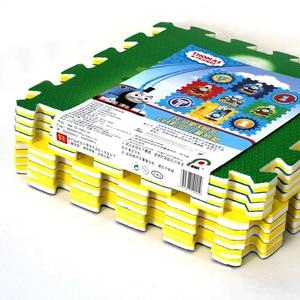 Image 4 - Thomas alfombrilla para gatear para niños, decoración de suelo para habitación infantil, protección de seguridad y medio ambiente