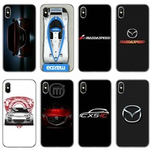 Accessories Phone Case For Huawei P30 P20 Pro P10 P9 P8 Lite Y5 Y6 Y7 Y9 P Smart Plus 2018 2019 Luxury Sports Car Mazdas Logo(China)