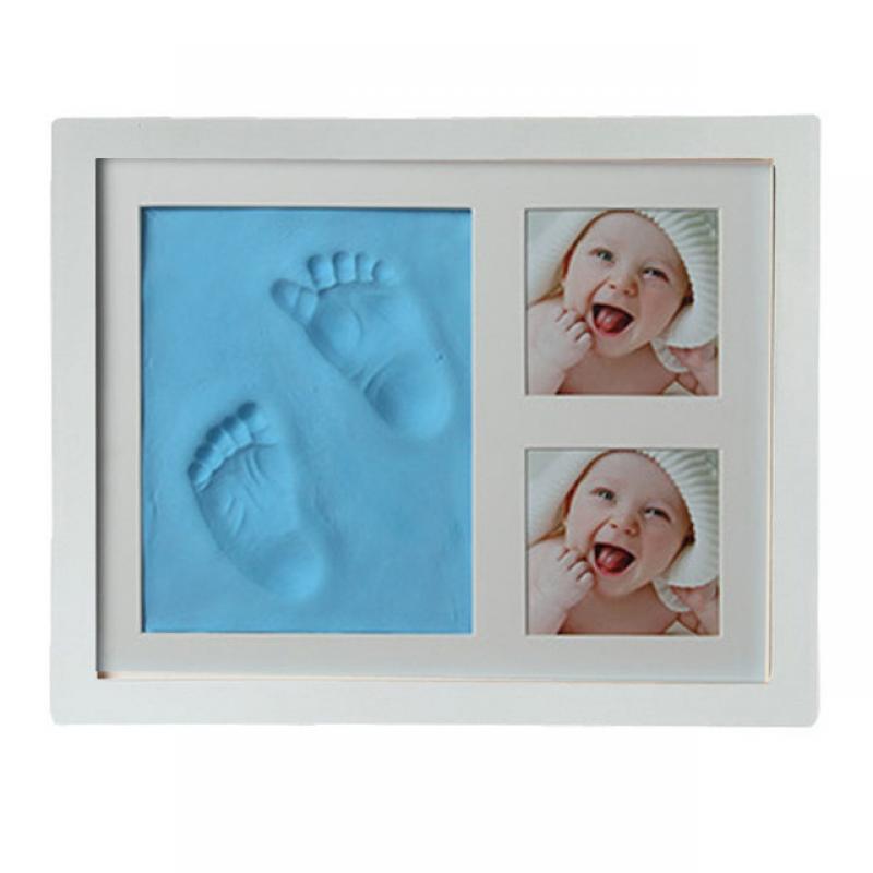 Набор отпечатков пальцев для новорожденных, нетоксичные сувениры «сделай сам» для младенцев, подарки, мягкая глиняная Inkpad для младенцев