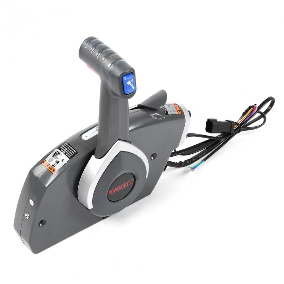 Outboard Side Remote Control Box Throttle//Shift for BRP Johnson Evinrude Boat