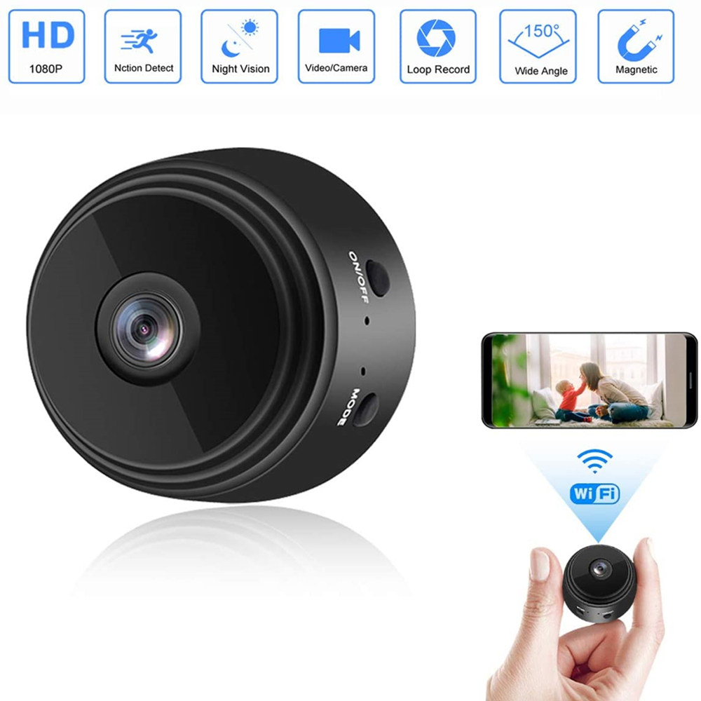 1080P A9 Mini Camera Wifi Wireless Action Smart Home Security Camera P2P Micro Camcorder Video Recorder Remote Casa Inteligent