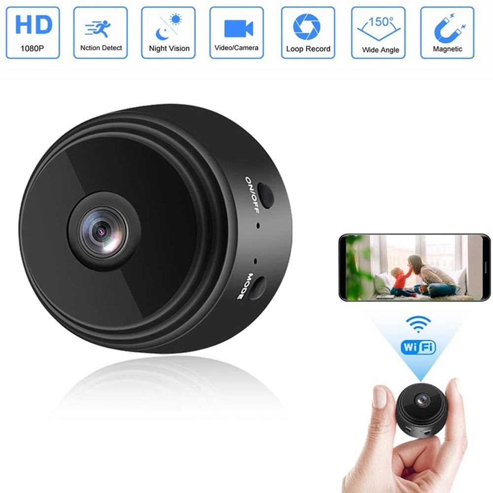 1080P A9 Mini Camera Wifi Wireless Action Smart Home Security Camera P2P Micro Camcorder Video Recorder Remote Casa Inteligent(China)
