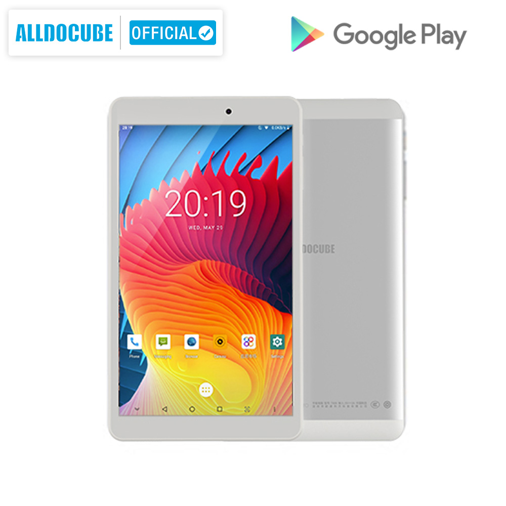 Alldocube Iplay8 Pro 8 Inch Tablet Android 9.0  MTK MT8321 Quad Core 3G Calling Tablet PC RAM 2GB ROM 32GB 800*1280 IPS OTG