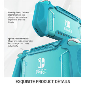 Image 3 - Mumba Grip Case For Nintendo Switch Lite Blade TPU Protective Portable Cover Case Compatible with Switch Lite Console (2019)