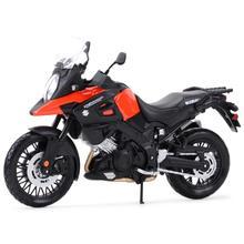Maisto 1:12 Suzuki V-Строма статические литые автомобили коллекционные хобби модель мотоцикла, игрушки