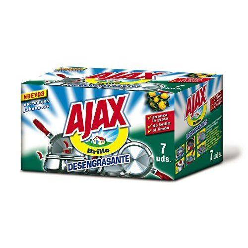 Ajax - Estropajos Jabonosos (7 Unidades)