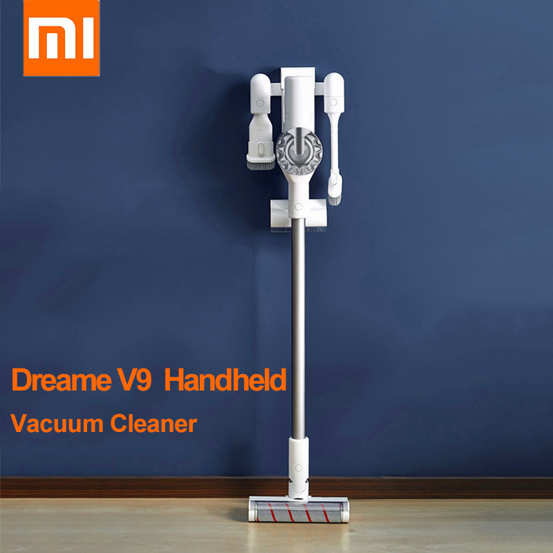 XIAOMI MIJIA Dreame V9 Handheld Vacuum Cleaner 20000Pa Cyclone Suction Multi Functional Sweeping Brush for Home Car Wireless