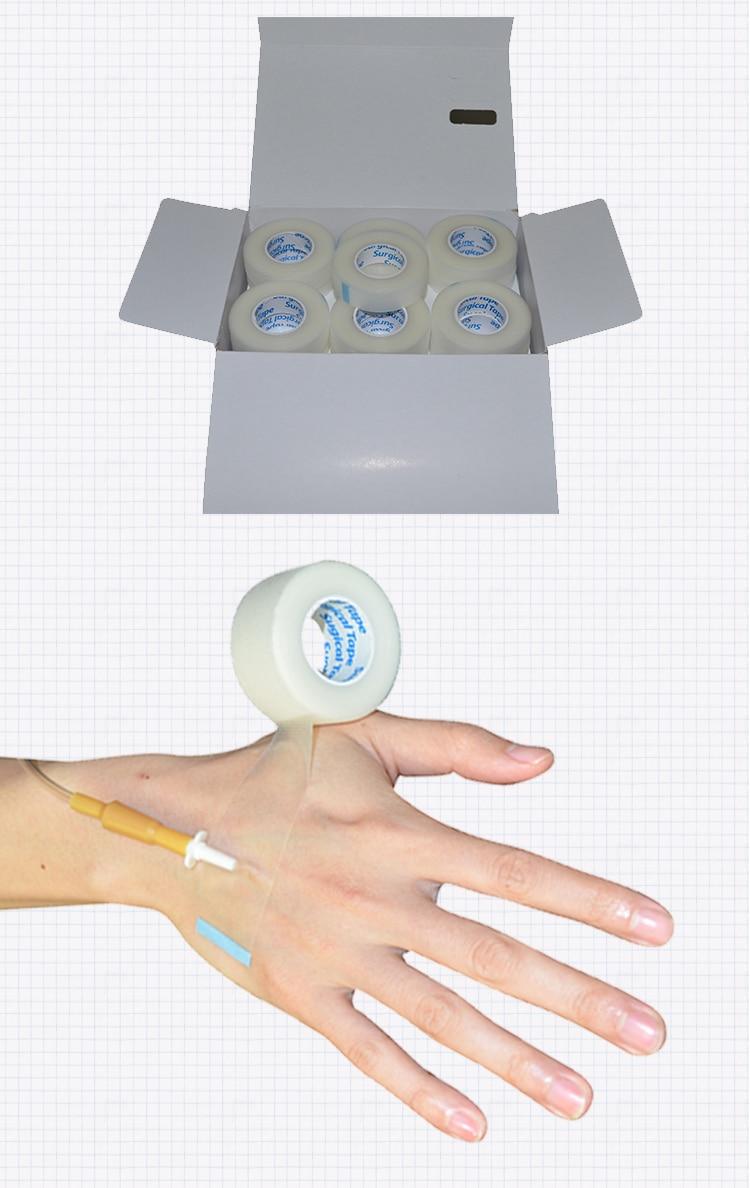 Медицинская дышащая PE лента хирургической волокно для наращивание ресниц подушечки для глаз белый Бумага под патчи инструмент для подвесных накладные ресницы медицинская лента скорой помощи медицина обезболивающее пластырь лечение медицинские бандажи аварийный спортивный пластырь для мышц