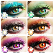 EYESHARE 2 pièces/paire ICESNOW Cosplay Couleur lentilles de contact halloween lentilles Lentilles de Contact pour Les Yeux