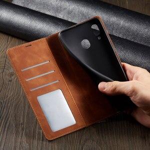 Image 3 - 電話ケース A10 A20 A30 A40 A50 A60 2019 高級磁気フリップ革カバー財布 GalaxyA50 GalaxyA10 を 20 30