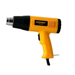Image 1 - Pistola de aire caliente para soldar, secador de pelo con control de temperatura, soldadura de aire caliente para construcción, pistolas de calor