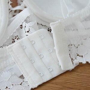 Image 5 - CINOON Conjunto de ropa interior Sexy para mujer, conjunto de sujetador y bragas de realce, sujetador hueco, conjunto de lencería con encaje bordado Sexy