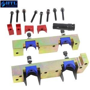 Image 2 - Motor Timing Tool Kit Nockenwelle Locking Tool Set Für Mercedes benz A B C E Klasse M133 M270 M274