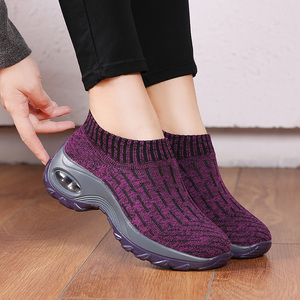 Image 3 - STQ Women Shoes Winter Flats Sneakers Shoes Breathable Mesh Shoes Women Sneakers Ladies Slip On Creepers Shoes Woman TF1972