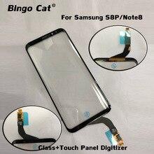 Nouveau travail de panneau en verre de convertisseur analogique numérique décran tactile doem pour le remplacement de problème de fonction tactile décran daffichage à cristaux liquides de Samsung Galaxy S8 Plus