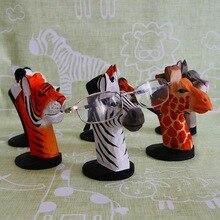 Cute 3D Animal Wood Carvings Sunglass Display Rack Shelf Eye