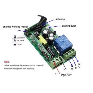Image 3 - Interruptor de mando inalámbrico de radiofrecuencia para escaleras, 85 265V, 1Ch, luz LED de techo