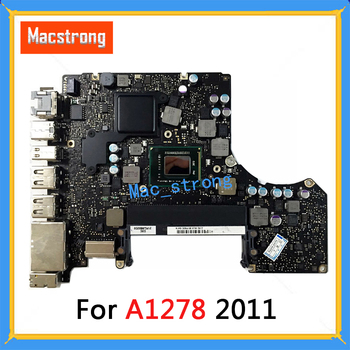 """Tested Original 13"""" A1278 Logic Board For MacBook Pro A1278 Motherboard 2011 2.3G 2.4G 2.7G 2.8G  820-2936-A/B"""