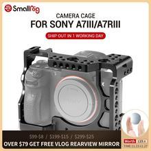 SmallRig A73 케이지 A7R3 / A7RIII / A7III 소니 A7R III / A7M3/ A7 III 용 카메라 케이지 Arri 위치 결정/4/1 8/3 나사 구멍 2087