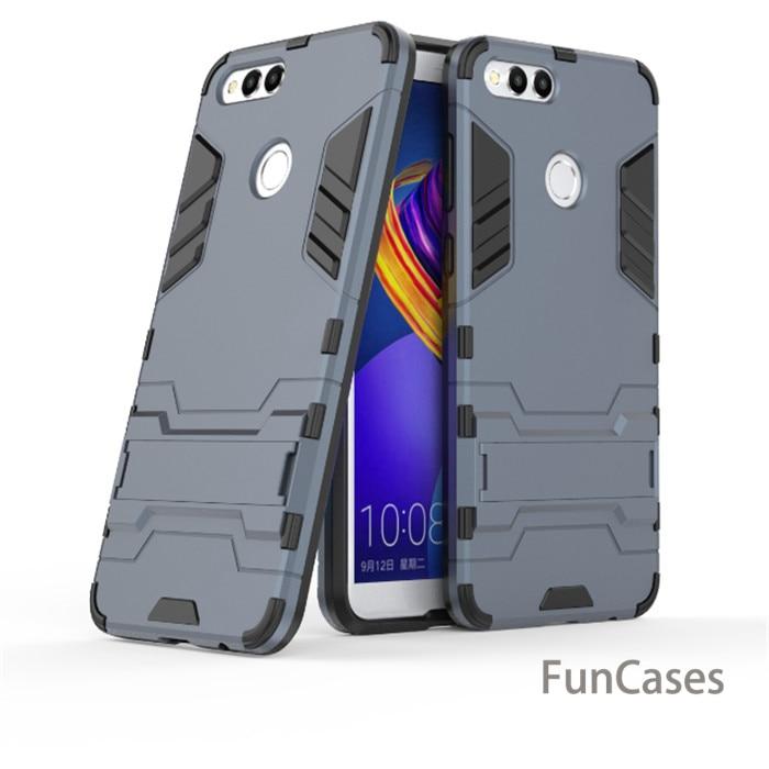 For Huawei P8 P9 Lite Mini 2017 P10 plus Armor phone case For Honor 6A 6X 7A 7C 7X Enjoy 8 plus Y9 2018 V9 Play Y7 Prime P Smart(China)