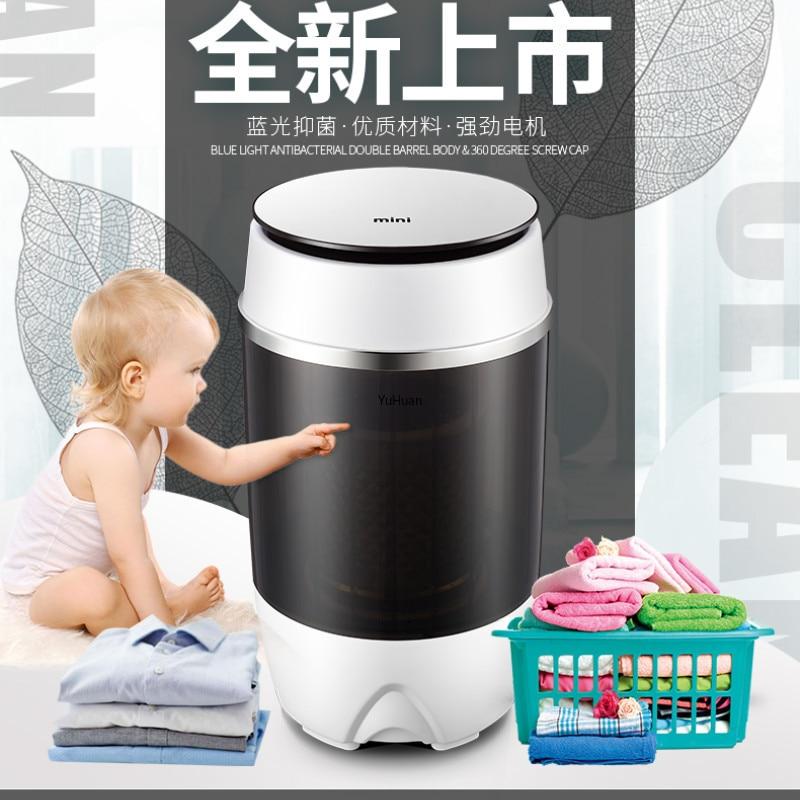 Single Barrel Washing Machine With Semi-automatic Mini Washing Machine Washing Machine  Washer And Dryer