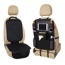 Oxford cloth car seat storage bag protection pad back wear cover