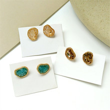 Fashionable creative earrings are beautiful and colorful candy ACTS the role of wind restoring ancient ways earring