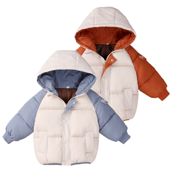 2020 Winter Boys Coat Children Clothes Long Sleeve Kids Jacket For Girls Warm Outerwear Zipper Hooded Jackets For Boys Clothes цена 2017