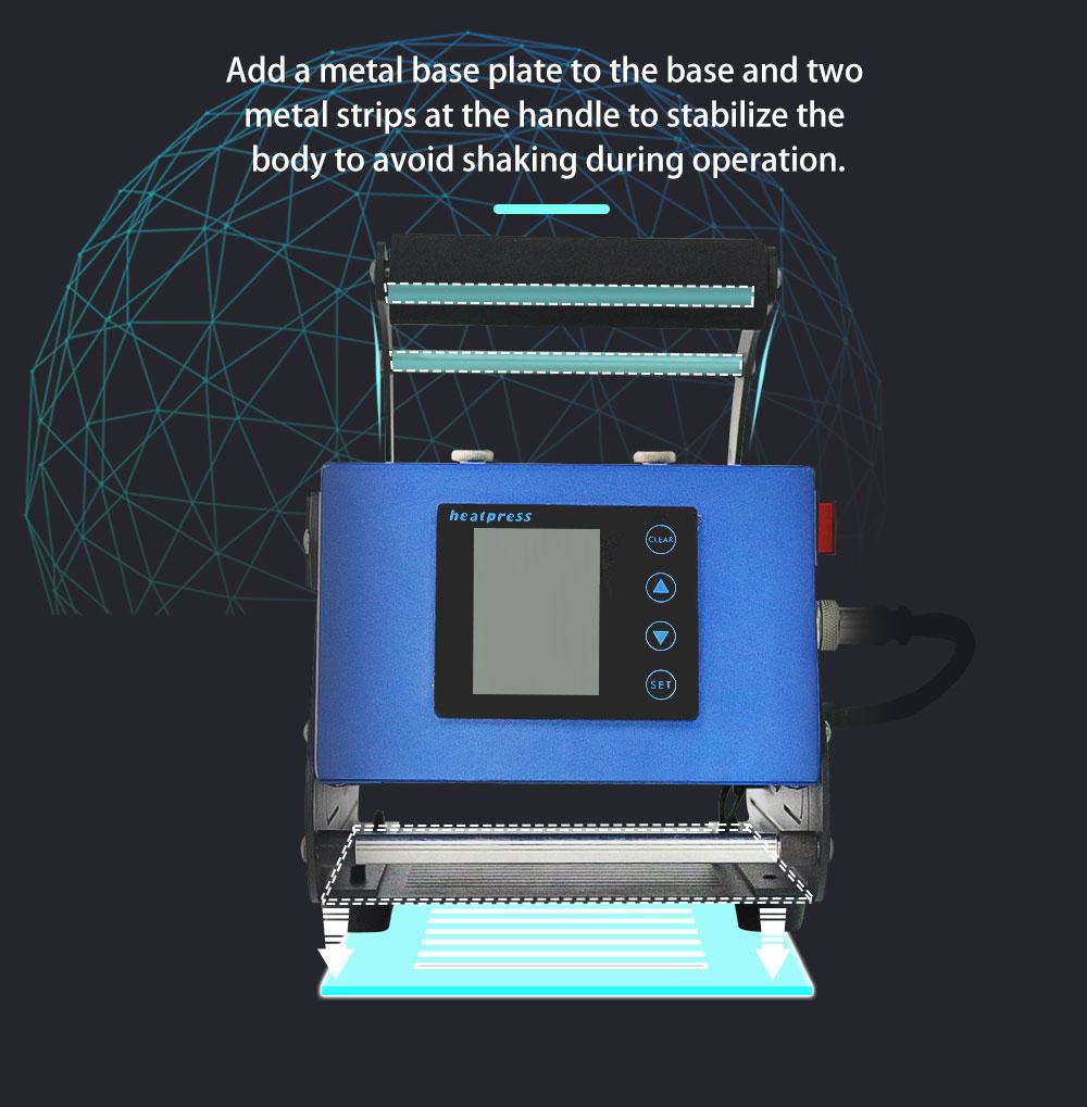 mug heat press machine miracle sublimation machine (5)
