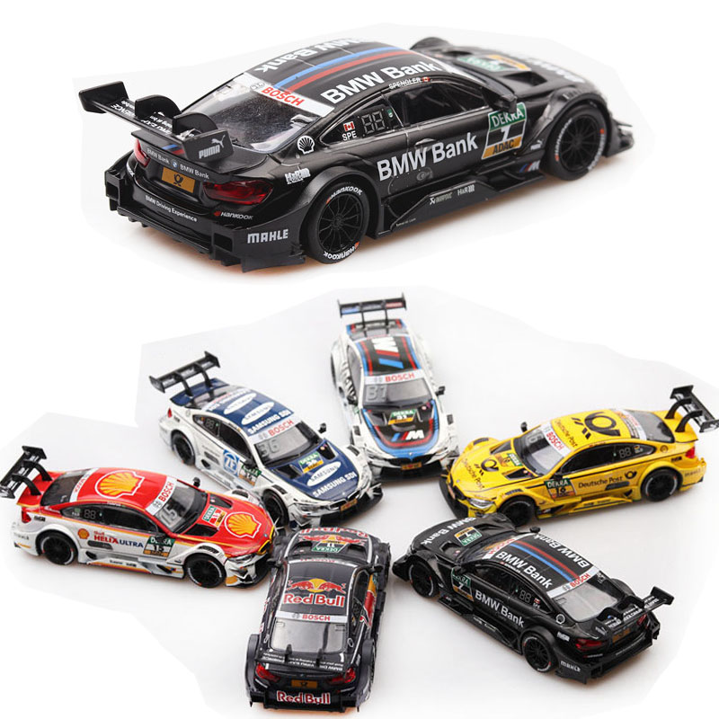 1:43 BMW-M4 Car Model Alloy Car Die-cast Toy Car Model Children Toys Collectibles Free Shipping