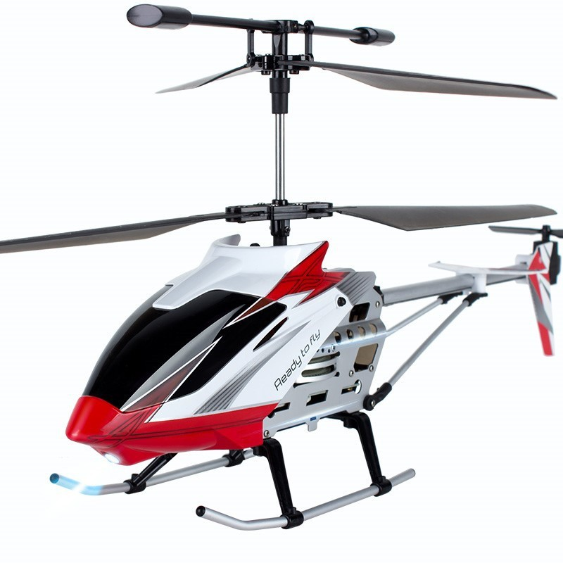 Remote Control Aircraft Unmanned CHILDREN'S Toy Drop-resistant Remote Control Boy Helicopter Charging Alloy Model Airplane Aviat