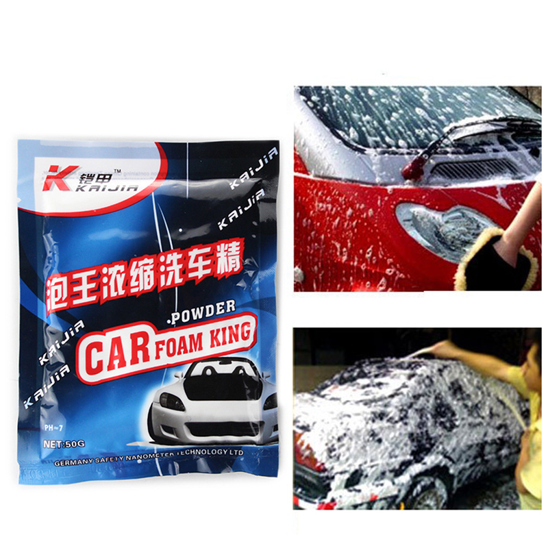 Car Wash Shampoo Concentrate Detergent Powder Super Foam Paint Care Washing Cleaning Concentrated Foam Car Wash Liquid
