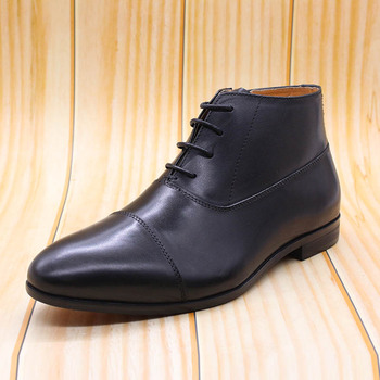 Boys Dress Shoes Leather Fashion Boots Kids Party Wedding Shoes Size 2.5 Little Boys Suit Shoes 12 Year Old Formal Luxury 2020