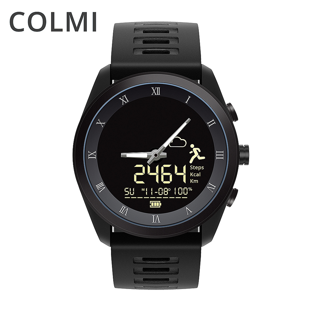 COLMI Smart Watch MIX1 Men 5ATM Professional Waterproof Fashion Bluetooth Quartz Watch Health Bracelet For IOS Android Phone