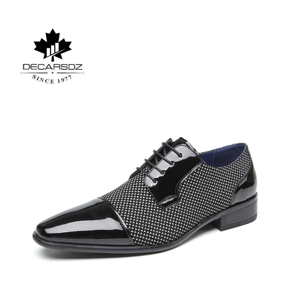Mới Chính Thức Giày da Nam Đầm Thương Hiệu Giày Công Sở Thời Trang Nam thiết kế sang trọng Giày công sở cao cấp Nam