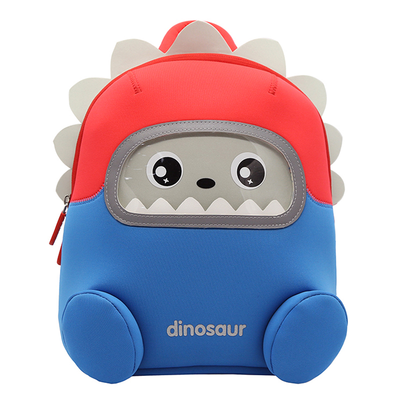 Cute Cartoon 3D Dinosaur Kids Backpacks 2-6 Years Kindergarten Children School Bag For Boys Toddler Travel Snack Bag Mochila