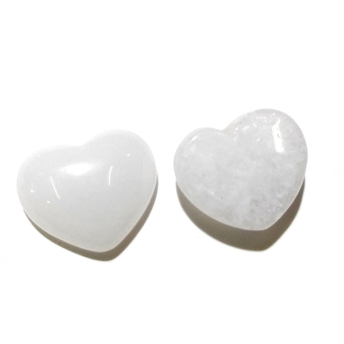 HA14260 - Charming Beads Pacco 10 x Bianco Acrilico 25mm Bottoni Tondi 2 Fori