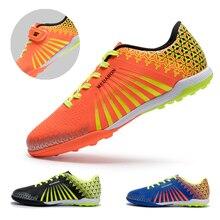 Soccer-Shoes Sneakers Turf Futsal Training Outdoor Children Broken Non-Slip Nails Boys