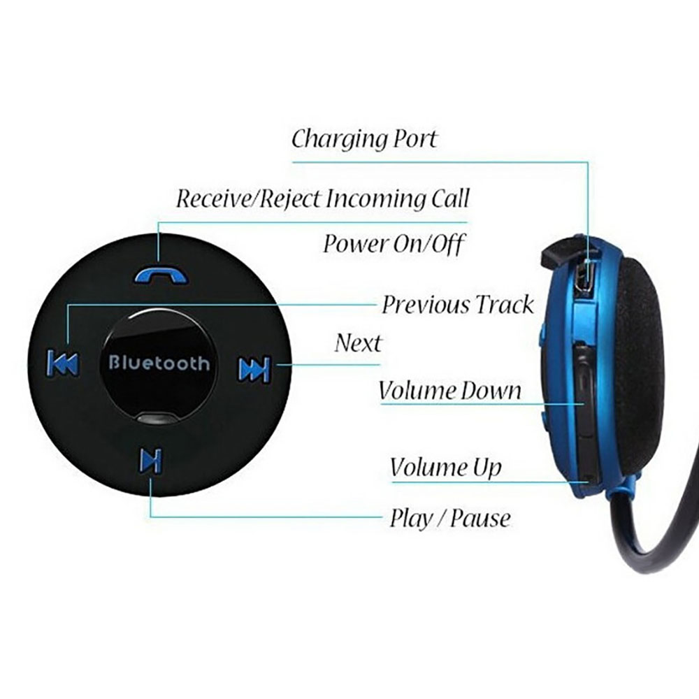 503 SD Bluetooth Headset